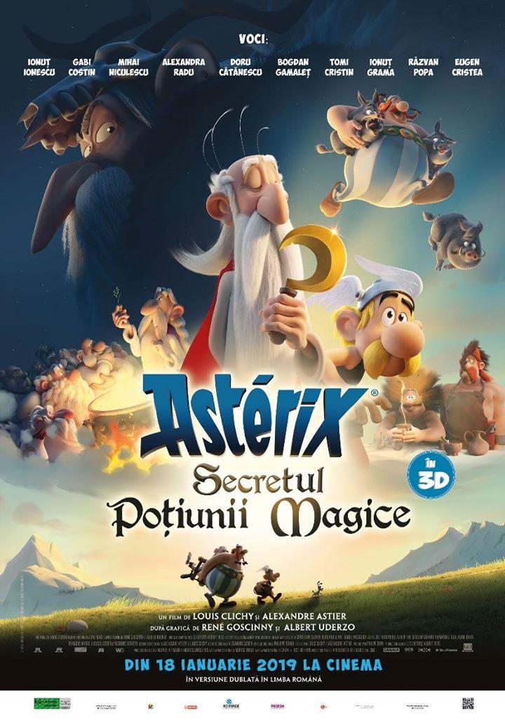 Astérix: Le secret de la potion magique (Asterix: Secretul poțiunii magice) - 3D Dublat RO