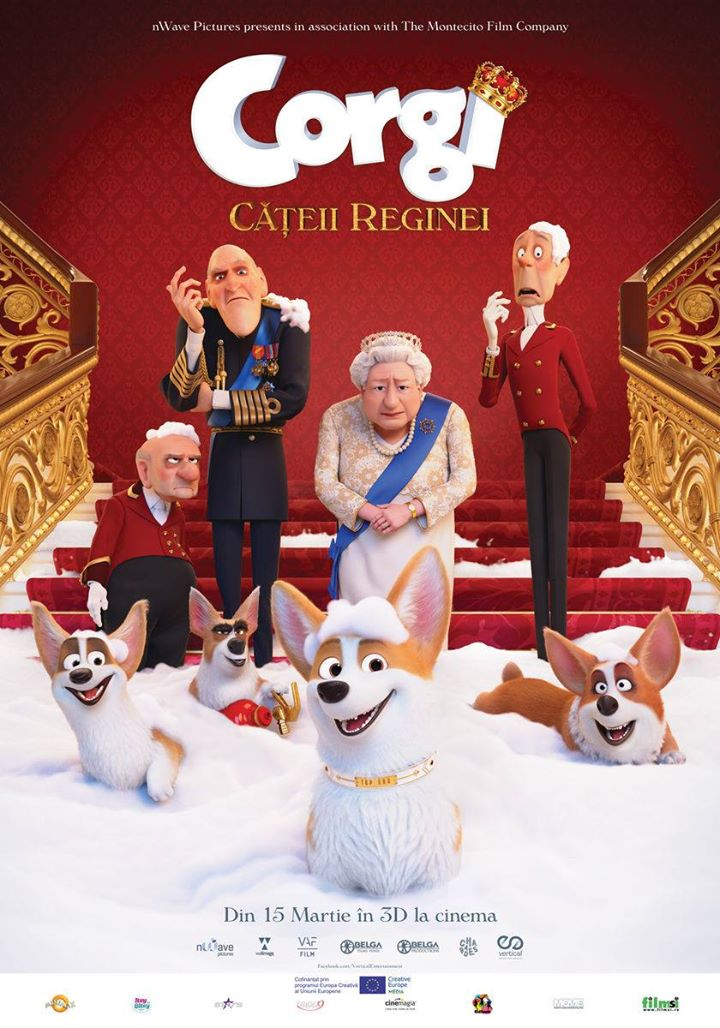 The Queen's Corgi (Corgi, Cățeii reginei) - 3D DUBLAT