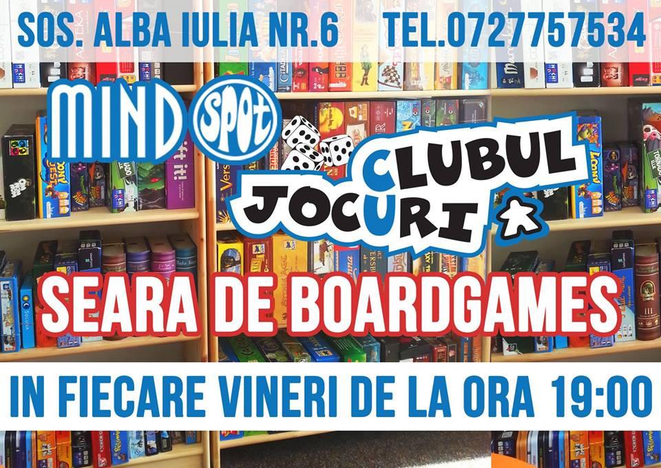 Vineri Seara cu Board Games
