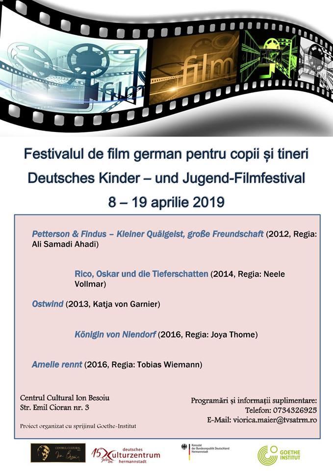 Festivalul de film german pentru copii si tineret