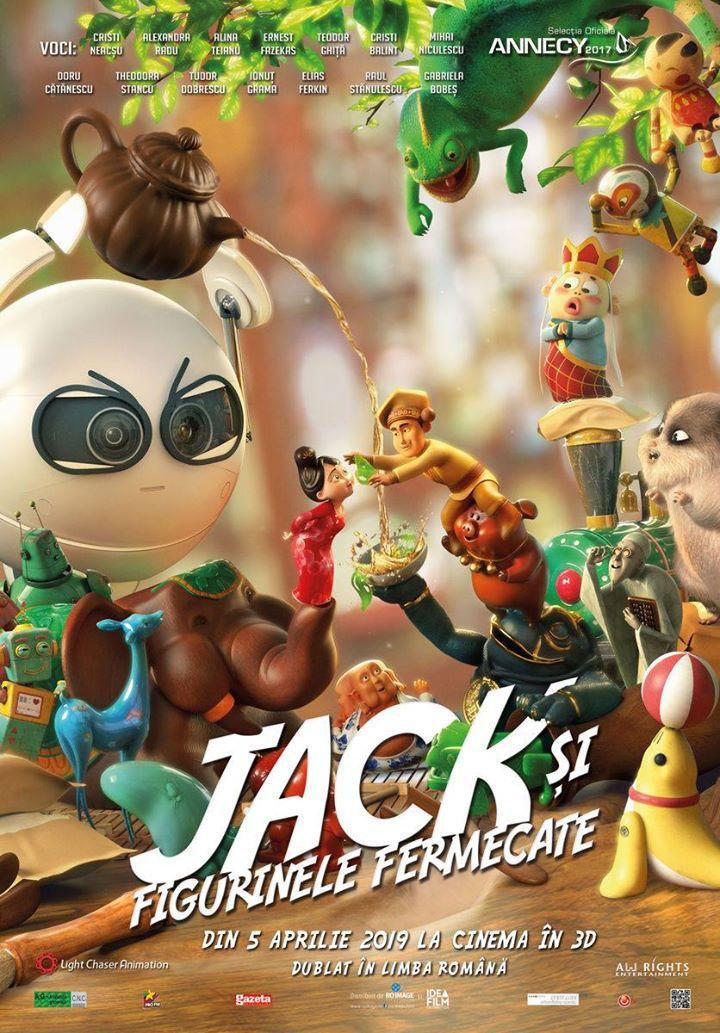 Tea Pets (Jack și figurinele fermecate) - 2D DUBLAT