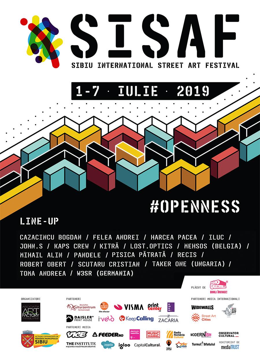 SISAF - Sibiu International Street ART Festival