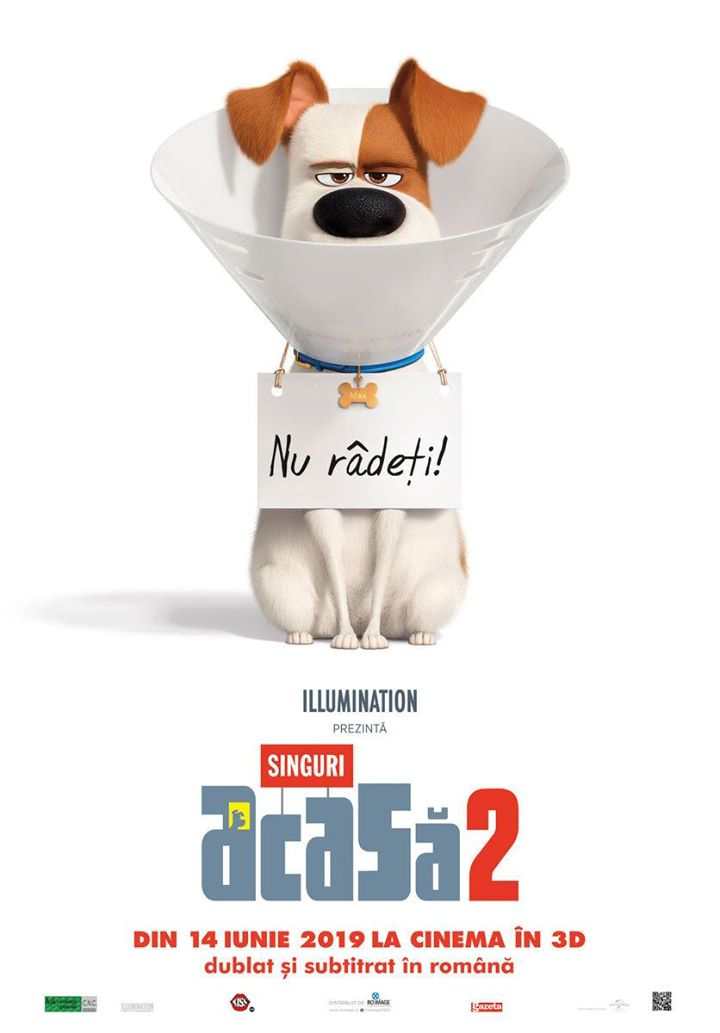 The Secret Life of Pets 2 (Singuri acasă 2 ) - 3D Dublat