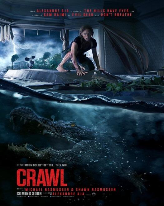 Crawl (Ape ucigașe) - 2D