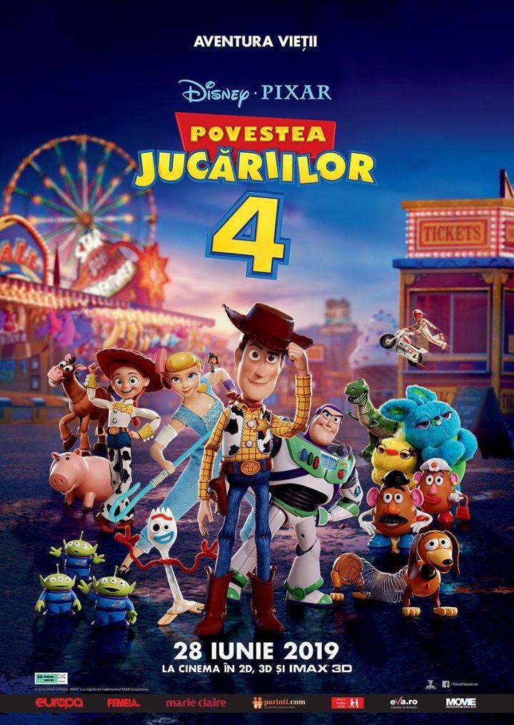 Toy Story 4 (Povestea Jucăriilor 4 ) - 3D Dublat