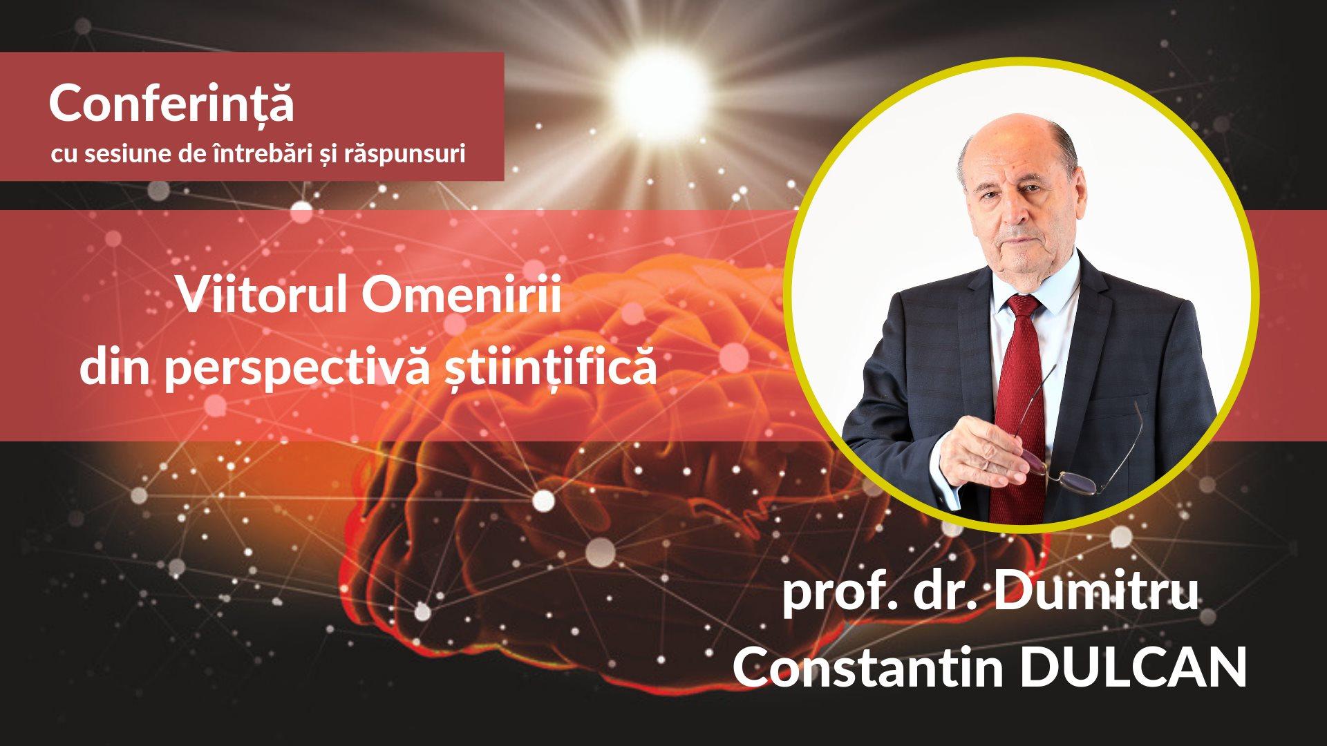 Viitorul omenirii din perspectivă științifică - Dumitru Constantin Dulcan
