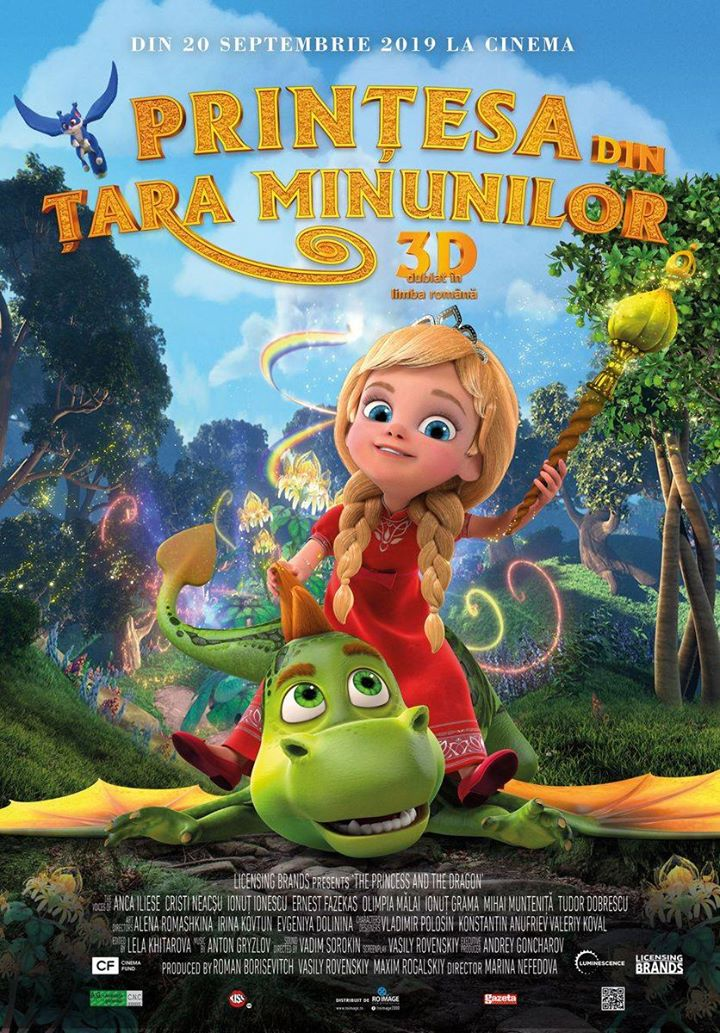 Princess in Wonderland (Prinţesa din Ţara Minunilor) - 3D Dublat