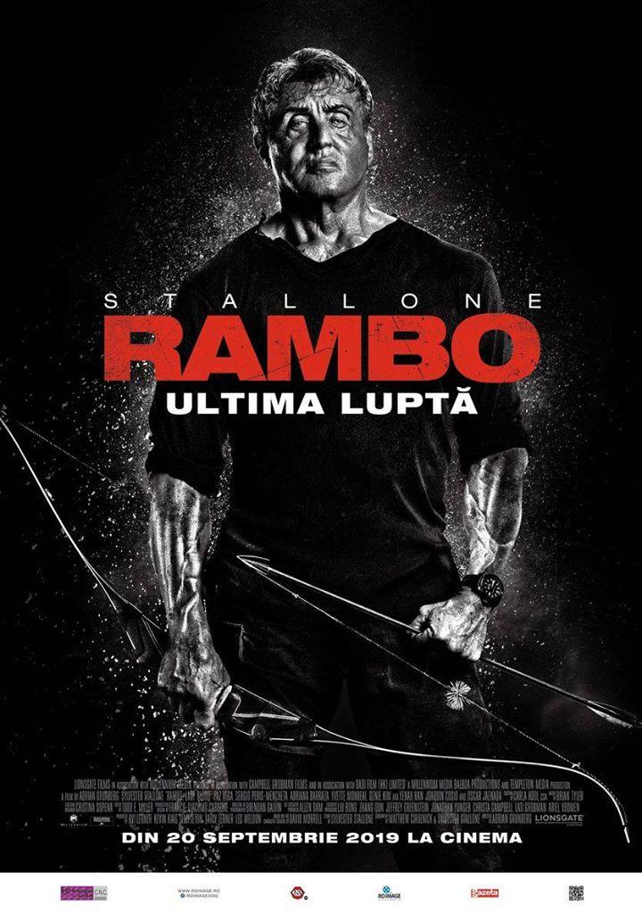 Rambo: Last Blood / Rambo: Ultima luptă -- PREMIERĂ