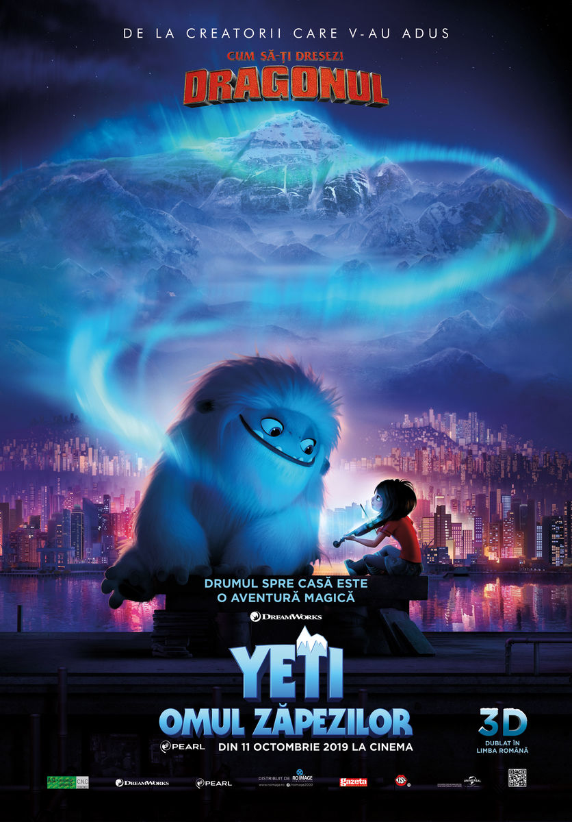 Abominable (Yeti - Omul Zăpezilor) - 3D Dublat