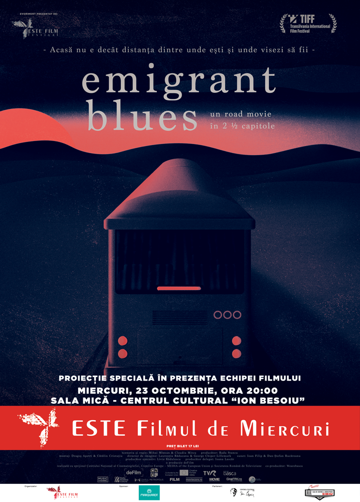 Emigrant Blues: un road movie în 2 ½ capitole
