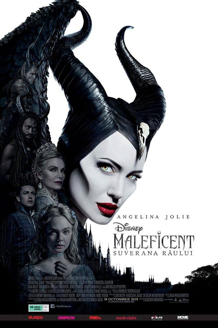 Maleficent: Mistress of Evil (Maleficent: Suverana Răului) 3D Dublat; A.G.