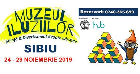 Muzeul Iluziilor pentru prima oară la Sibiu