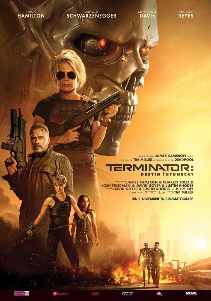 Terminator: Dark Fate (Terminator: Destin întunecat) - 2 D – N-15 – PREMIERA