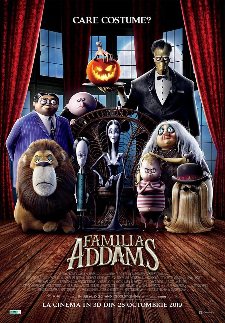 The Addams Family (Familia Addams) - 3D – AG