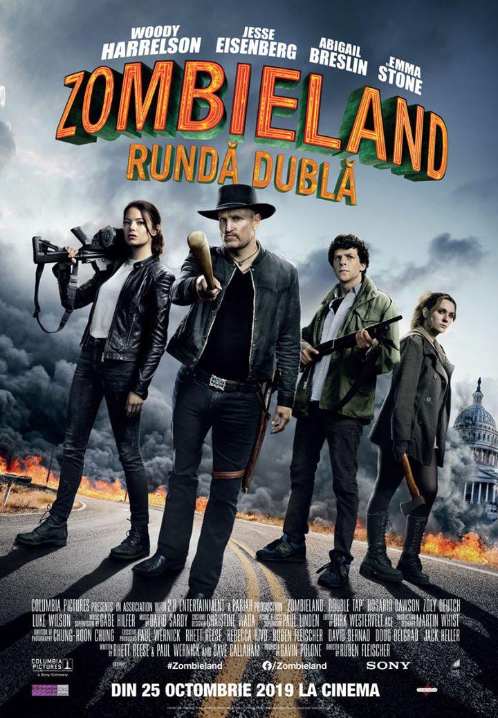 Zombieland: Double Tap (Zombieland: Rundă dublă) – 2D – N-15 – PREMIERA