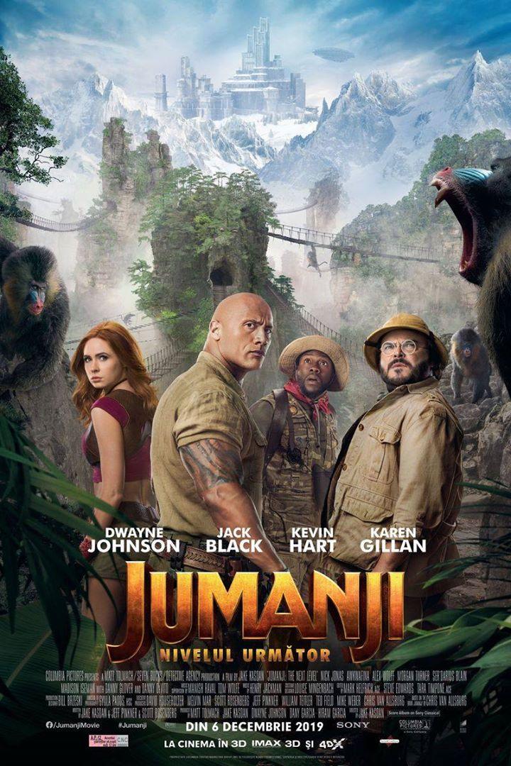 Jumanji: The Next Level ( Jumanji: Nivelul următor) - 2D; AP 12