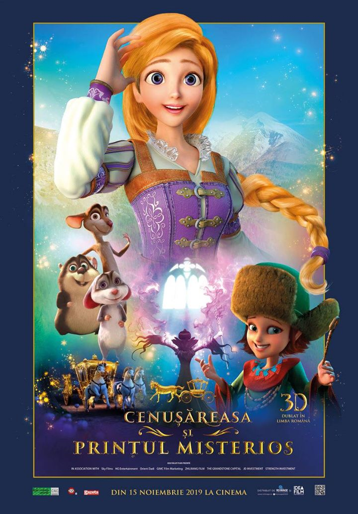 Cinderella and the Secret Prince (Cenusareasa si Printul Misterios) 3D Dublat; A.G.