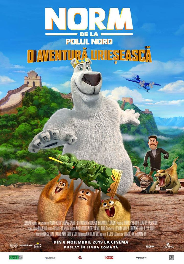 Norm of the North: King Sized Adventure ( Norm de la Polul Nord: O aventura urieseasca) 2D Dublat; A.G.