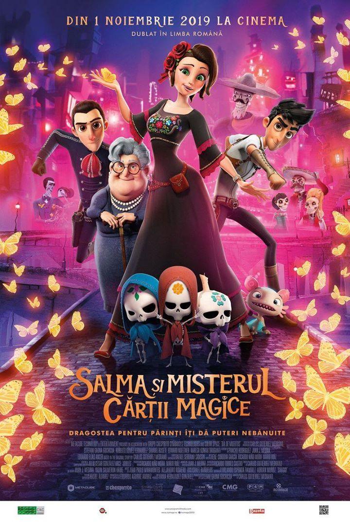 Salma's big wish (Salma si misterul cartii magice) – 3D Dublat – AG – PREMIERA