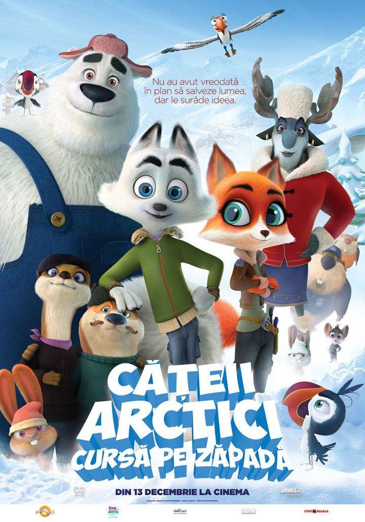 Arctic Justice (Căţeii arctici: Cursă pe zăpadă) - 2D Dublat; A.G