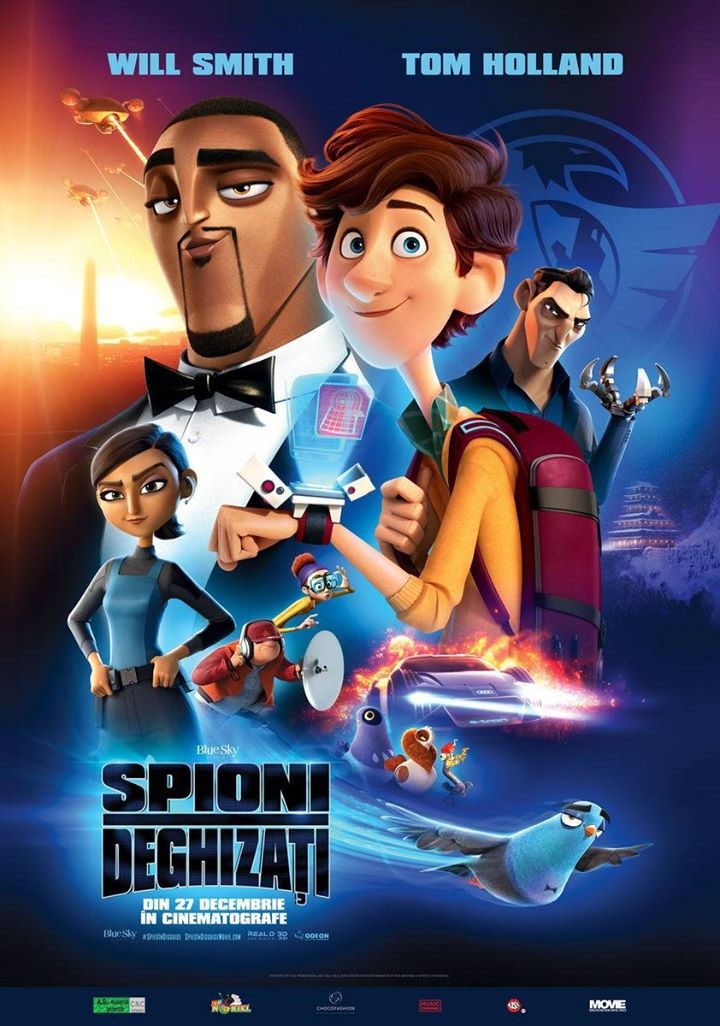 Spies In Disguise (Spioni Deghizati) - 3D DUBLAT
