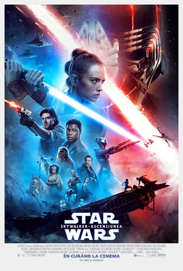 Avanpremiera: Star Wars: The Rise of Skywalker (Star Wars: Skywalker - Ascensiunea) - 3D Subtitrat