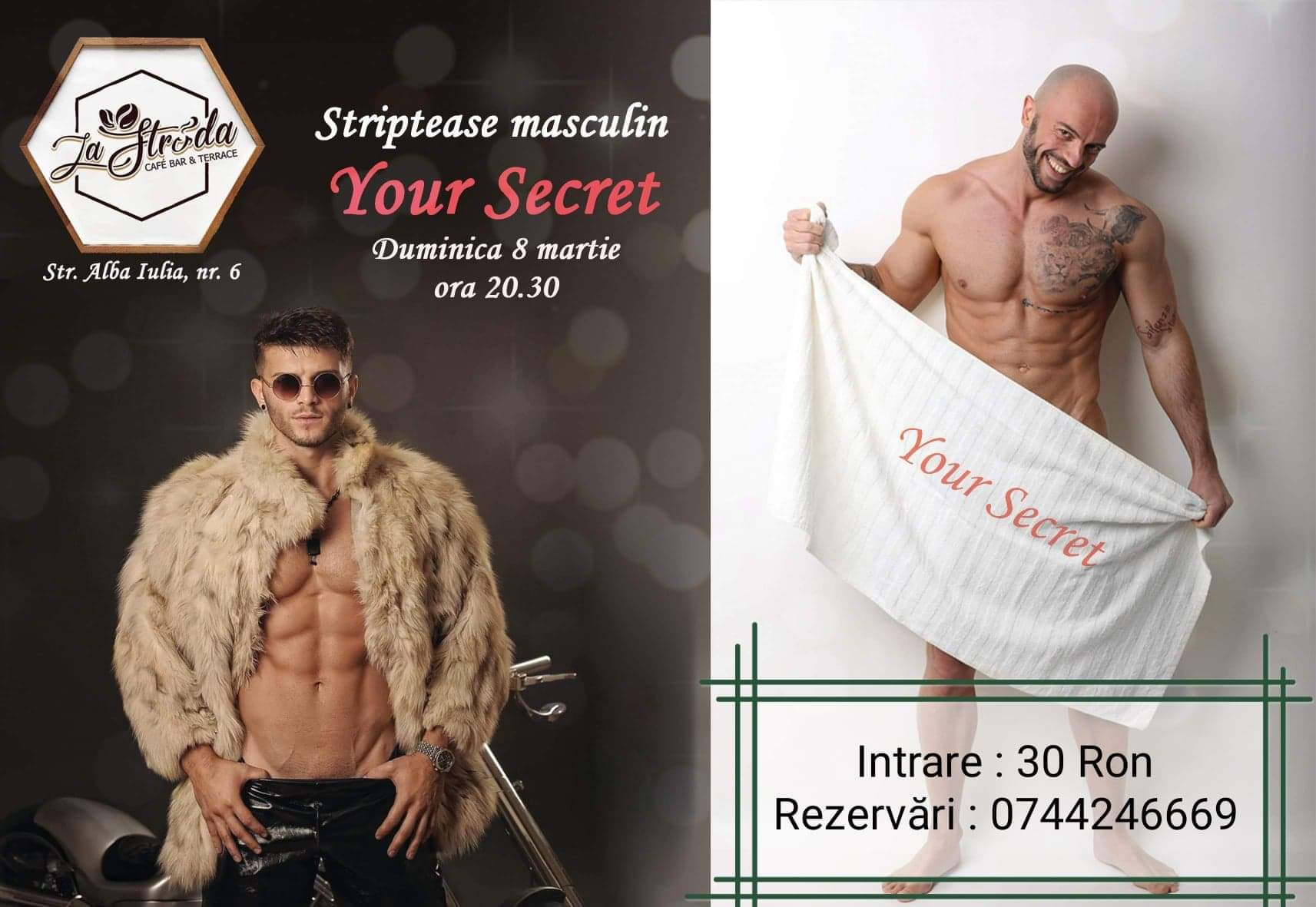 Striptease masculin Your Secret